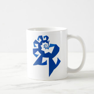 Fractal Power - Blue Coffee Mug