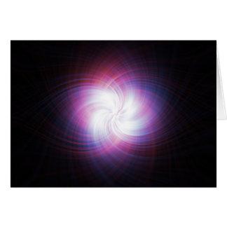 Fractal power greeting card
