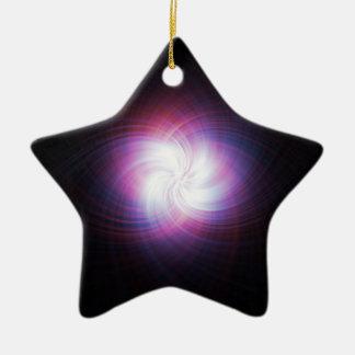 Fractal power ceramic ornament