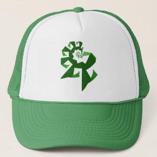 Fractal Power - Green Trucker Hat