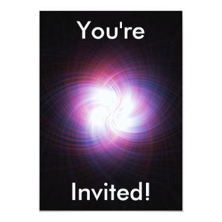 Fractal power 5x7 paper invitation card