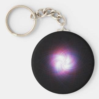 Fractal power keychain