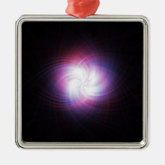 Fractal power metal ornament