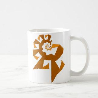 Fractal Power - Orange Coffee Mug