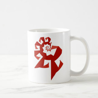 Fractal Power - Red Coffee Mug