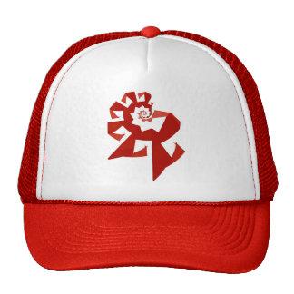 Fractal Power - Red Trucker Hats