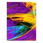 Fractal - primer del ala de la mariposa postal