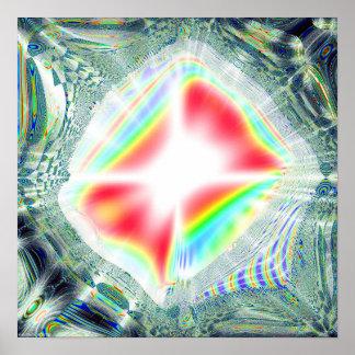 Fractal Prisma Poster