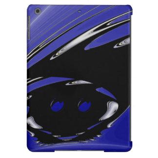 Fractal punky negro funda para iPad air