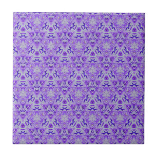 Fractal Purple lovers Seamless personal background Ceramic Tile