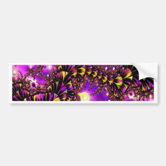 Fractal Purple Stairway to Heaven Bumper Sticker