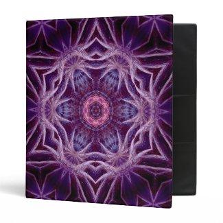 Fractal Purple Star Binder