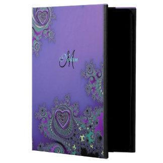 Fractal púrpura con la caja céltica del aire 2 del