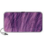 Fractal púrpura del abeto notebook altavoz