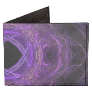 Fractal púrpura del dolor billeteras tyvek®
