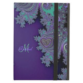 Fractal púrpura violeta de Digitaces
