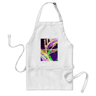 Fractal - Pussy Willows Adult Apron