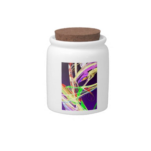 Fractal - Pussy Willows Candy Jar