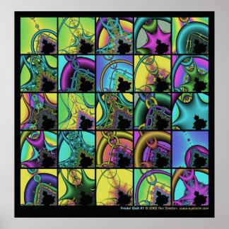 Fractal Quilt #1 Print
