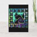 Fractal Quilt #5 card