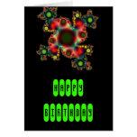 Fractal radiactivo de la ameba tarjetas