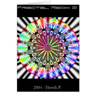 Fractal Radix 2 (card) Card