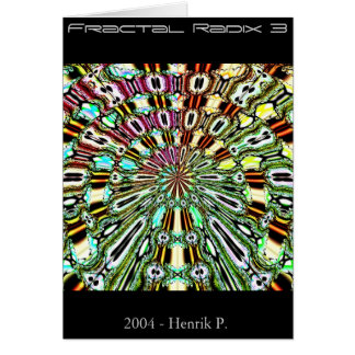 Fractal Radix 3 (card) Card
