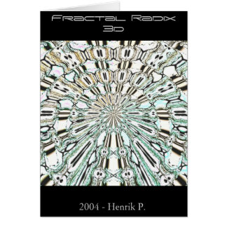 Fractal Radix 3d (card)