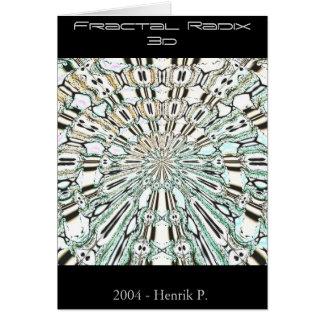 Fractal Radix 3d (card) Card