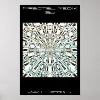 Fractal Radix 3d Poster