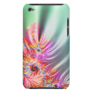 Fractal Rainbow Barely There iPod Cases