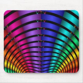 Fractal Rainbow Mouse Pad