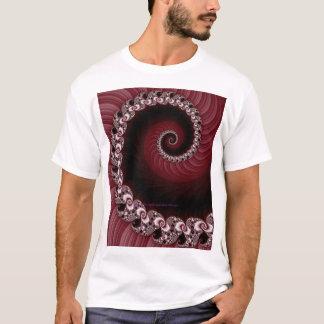 Fractal Red Spiral Shirt
