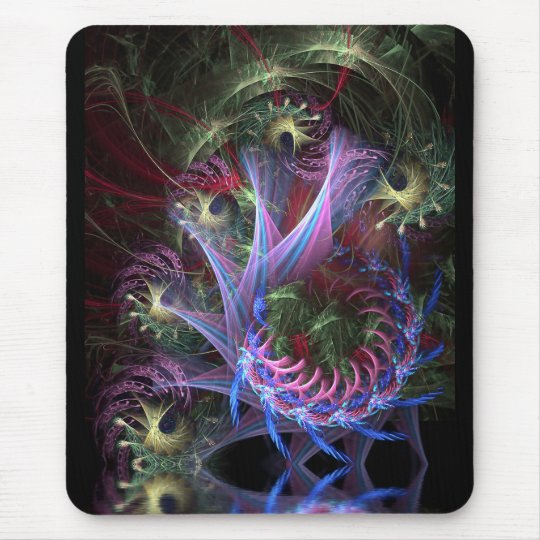 Fractal Ribbons Mousepad