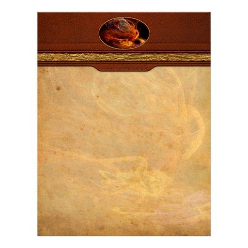 Fractal - Rise of the phoenix Customized Letterhead