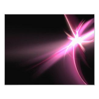 Fractal rosado de la energía de Abtract Cojinete