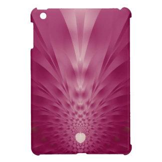 Fractal rosado de la piña iPad mini fundas