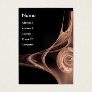 FRACTAL ROSE 2 ,antique soft pink white Business Card