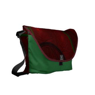 Fractal Rose Garden Courier Bag