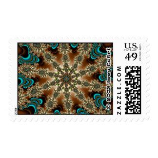 Fractal S~17 Postage Stamp (Medium)