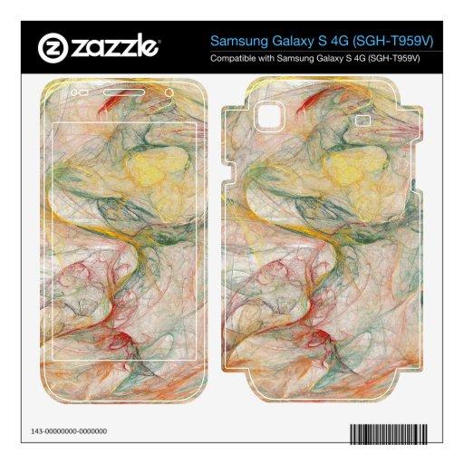 Fractal Samsung Galaxy S 4G Skin