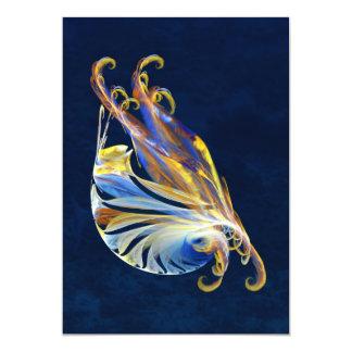 Fractal - Sea Creature Personalized Invitation