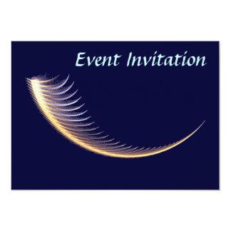 Fractal Shofar 5x7 Paper Invitation Card