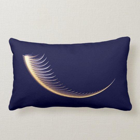 Fractal Shofar Lumbar Pillow