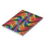 Fractal Silk Rainbow Scratch Pad