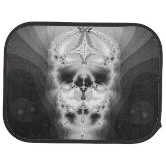 Fractal Skull Floor Mat