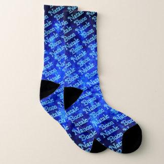 Fractal Snowburst - Buon Natale Socks