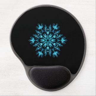 Fractal Snowflake Gel Mouse Pad