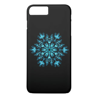 Fractal Snowflake iPhone 7 Plus Case