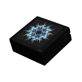 Fractal snowflake jewelry box